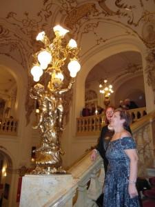 Operaház lépcsőin Graz 2014