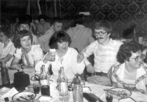 Drugarsko veče Ekonomskog fakulteta, Palić, 1979