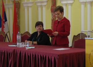 Konferencia vezetés W.W.Doris-szal, 2013