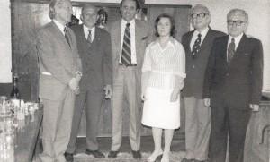 Dékánhelyettes a Közgazdasági karon, 1976