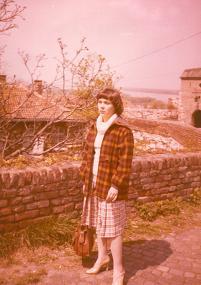 Posztgraduális szakon, Belgrád, 1978