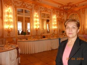 Cári asztalnál Szentpéterváron
