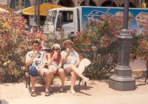 Ciprus, Larnaca 1997