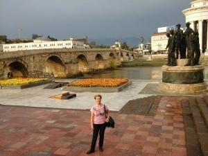 Vardár partján, Skoplje 2014