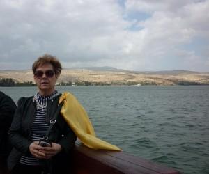 Izrael - hajózás a Galilei tavon 2013