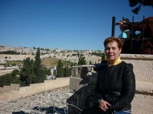 Jerusalim az Olajfák hegyén 2013
